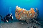 Une épave visitée par nos plongeurs