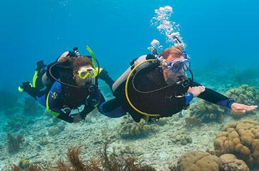 Séjour formation Advanced Open Water Diver et Nitrox chez Mio Palmo Plongée