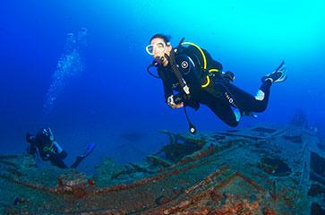une weekend complet pour découvrir les joies de la plongée sous-marine