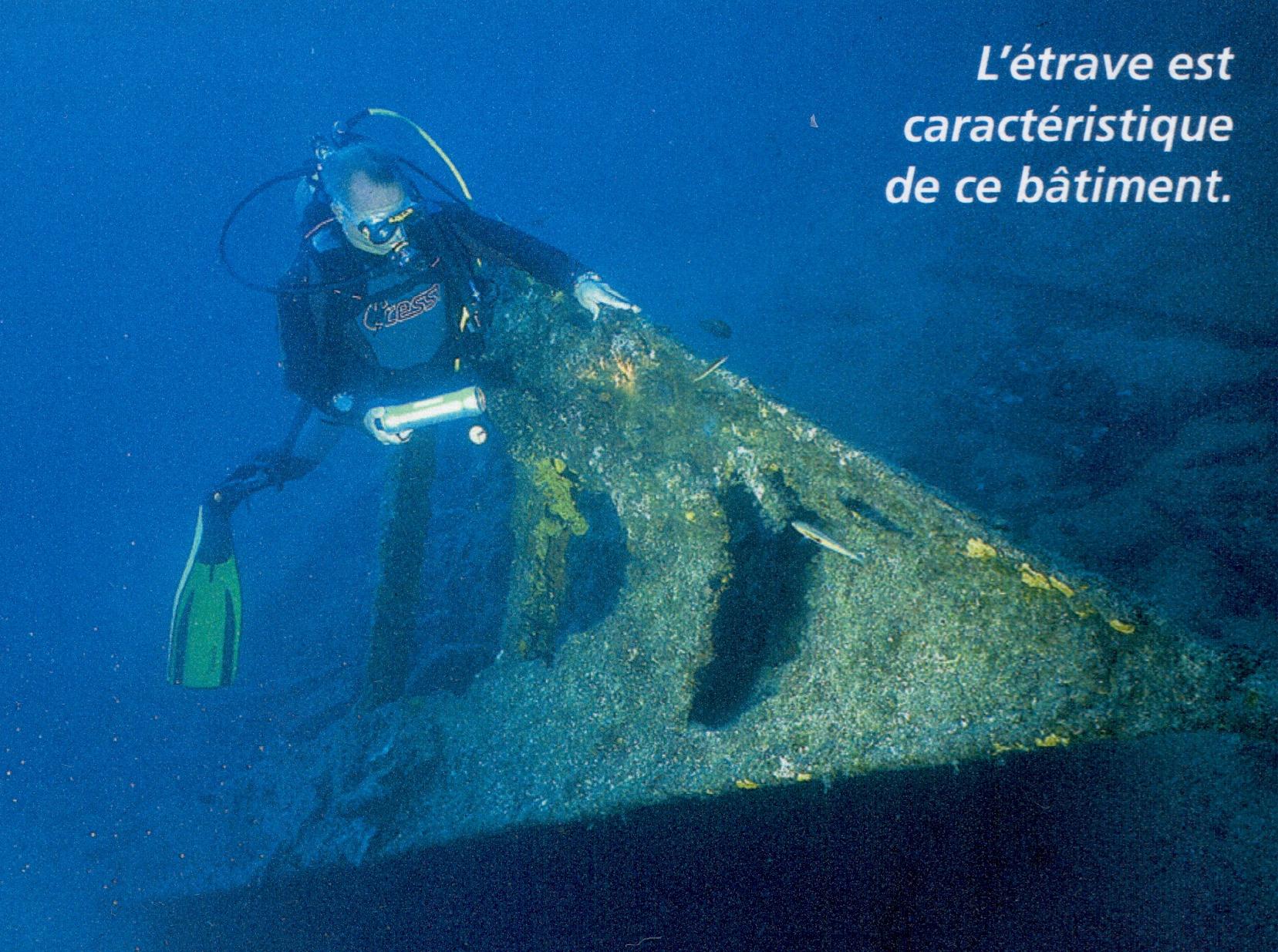 Bateau vapeur  le Marcel plongée open water porquerolles