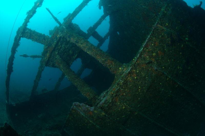 Epave bateau michel C