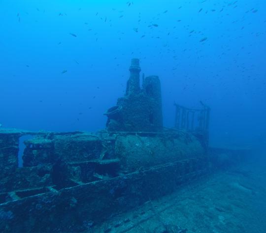 Le Rubis, site de plongée à Cavalaire-sur-Mer